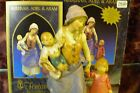 Fontanini 52585 Rebekah Adel  Aran 5 inch Scale Nativity 2 pieces NEW