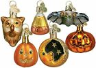 Old World Christmas Ornaments Halloween Kitty Glass Blown Ornaments