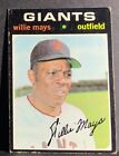 Vintage Willie Mays Baseball Card Timeline: 1951-1974 129