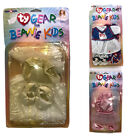 Ty Gear Beanie Kids Clothes Lot of 3 Outfits Bride Ballerina Cheerleader NEW