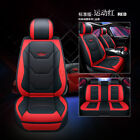Universal Full Car Auto Seat Covers Protector Pu Leather For Suv Van Car Truck