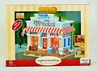 Lemax Village Suzys Ice Cream Shop  Harvest Fall Crossing Lighted House 55234