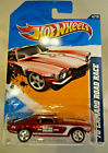 2012 HOT WHEELS 70 CAMARO ROAD RACE SUPER TREASURE HUNT ON CARD