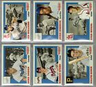 2016 Topps Throwback Thursday All-American 6-Card Set TBT #19-24