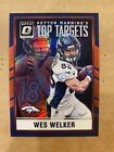 Wes Welker Cards and Autographed Memorabilia Guide 10