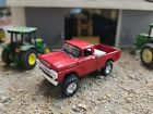 CUSTOM MADE red1959 Ford F350 Truck 164 Scale 4x4 mud tires hitch tow ertl farm
