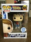 Funko Pop Back to the Future Marty McFly in Jacket #1025 Funko Shop Exclusive