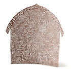 Willow Tree Shelter for The Holy Family pierced metal nativity backdrop