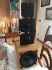 Pair Of Diffused Esoteric Heco + Filter Passive 5 Ways + Active Subwoofer