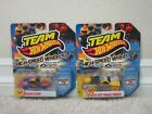 NEW LOT OF 2 TEAM HOT WHEELS HIGH SPEED WHEELS TOYOTA OFF ROAD  NISSAN 370Z