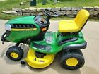 JOHN DEERE RIDING MOWER D130 EXCELLENT CONDITION USED TWO SEASONS SAVE