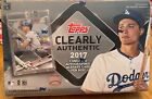 2017 TOPPS CLEARLY AUTHENTIC HOBBY BOX BASEBALL NEW SEALED 1 ENCASED AUTO CARD !