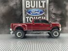 Custom lifted2019 Ford 67 F 350 4x4 1 64 scale Dually diesel Lariat GREENLIGHT