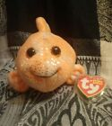 Ty Beanie Babies Reefs -Orange Clown Fish-  with Tags and protector.       17ad*