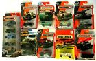 Matchbox Diecast Army Military 5 Pack Vehicles Tanks Jeep Hummer Missile Lot