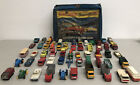 Vintage Lesney Matchbox Lot 55+ Pcs Made in England Toy Cars Diecast With Case