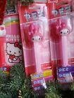 PEZ HELLO KITTY Candy dispenser Collection LOT
