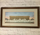Nashville Parthenon Nativity Scene Elaine Speed Neely 704 2000 Signed Framed