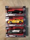 Jada 132 Fast And Furious Lot of 5 Cars