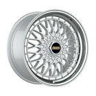 4 Wheels 18 inch Silver with Polish Lip Rims fits PONTIAC G6 GXP COUPE 2008 2009