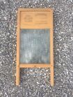 Antique National Washboard 863 Vintage Lingerie Glass WASH BOARD Memphis Chicago