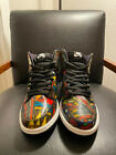 Nike SB DUNK HIGH STAINED GLASS 100 AUTHENTIC SIZE 10 WITHOUT BOX