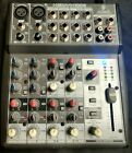 Behringer XENYX 1002FX 10 Channel Audio Mixer with Multi FX Processor w power