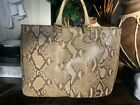 Fendi Python Purse Perfect Condition Large Bag