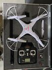 Syma X5C 24Ghz RC Quadcopter Drone with Camera w Batteries Props Case
