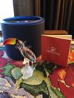 Swarovski Crystal Feathered Toucan Bird Colored Beak With Box And COA MINT