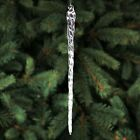 10 Glass Icicles 48 Quantity Christmas Holiday Ornaments