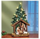 LED Nativity Scene 14 Tall Wall Decor Hangs Easily col J17
