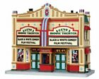 Lemax Cove Movie Theater 2014 #45682 Lighted Building Christmas Village Retired