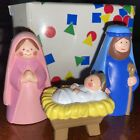 My First Christmas Story Nativity Collection Avon Kids Mary Joseph And Jesus