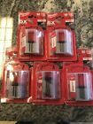 Milwaukee General Purpose Utility Blades 50 W Dispenser 48 22 1950 Lot Of Five