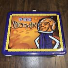 Vintage PEZ Spaceman metal lunchbox with thermos 2002 Bosley Boxes