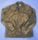 GSTAR RAW REVEND MOTORCYCLE JACKET EXCELLENT COND SIZE LARGE FREE SHIPPING