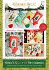 Kimberbell Machine Embroidery CD Noels Quilted Stockings