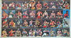 Vintage 1991 Players International Ringlords Boxing Uncut Sheet Set of 40 Cards