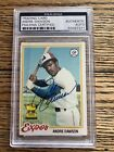 Andre Dawson Cards, Rookie Card and Autographed Memorabilia Guide 40