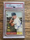 Ron Santo Cards, Rookie Card and Autographed Memorabilia Guide 32