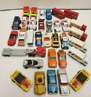 Vintage Matchbox Lot of 33 1971 1990 some lesney diecast good mix