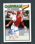 Top 10 Ted Simmons Baseball Cards 17