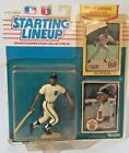 1990 Lou Whitaker Starting Lineup Baseball Figure Card toy Detroit Tigers