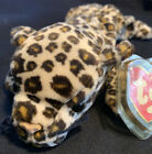 FRECKLES the Leopard Ty Beanie Baby Rare Retired Date of Birth June 3 1996