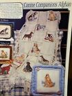OOP Stoney Creek CANINE COMPANIONS AFGHAN ENTIRE SERIES 11 Dog X Stitch Pattern