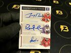 JERRY RICE RANDY MOSS LARRY FITZGERALD 2020 INKpeccable Trios Autograph 5 *SSP*