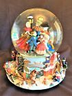 Kirkland Signature Musical Christmas Water Globe With Revolving Base EUC