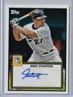 GIANCARLO MIKE STANTON 2011 TOPPS LINEAGE AUTOGRAPH AUTO NEW YORK YANKEES