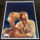 Steven Spielberg Signed E.T. The Extra-Terrestrial 8x10 Photo JSA Spence COA
